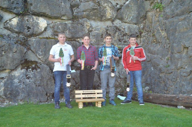 Kat. B Mitte 1. von Wyl Kevin links 2Ming Fabian , rechts 3 a,b Zemp Fabian ,Burch Ivan